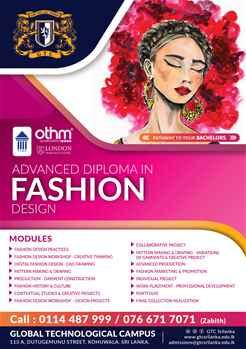 Advanced Diploma in Fashion Designing